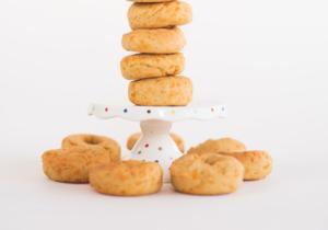 Mini Cheezy Donuts