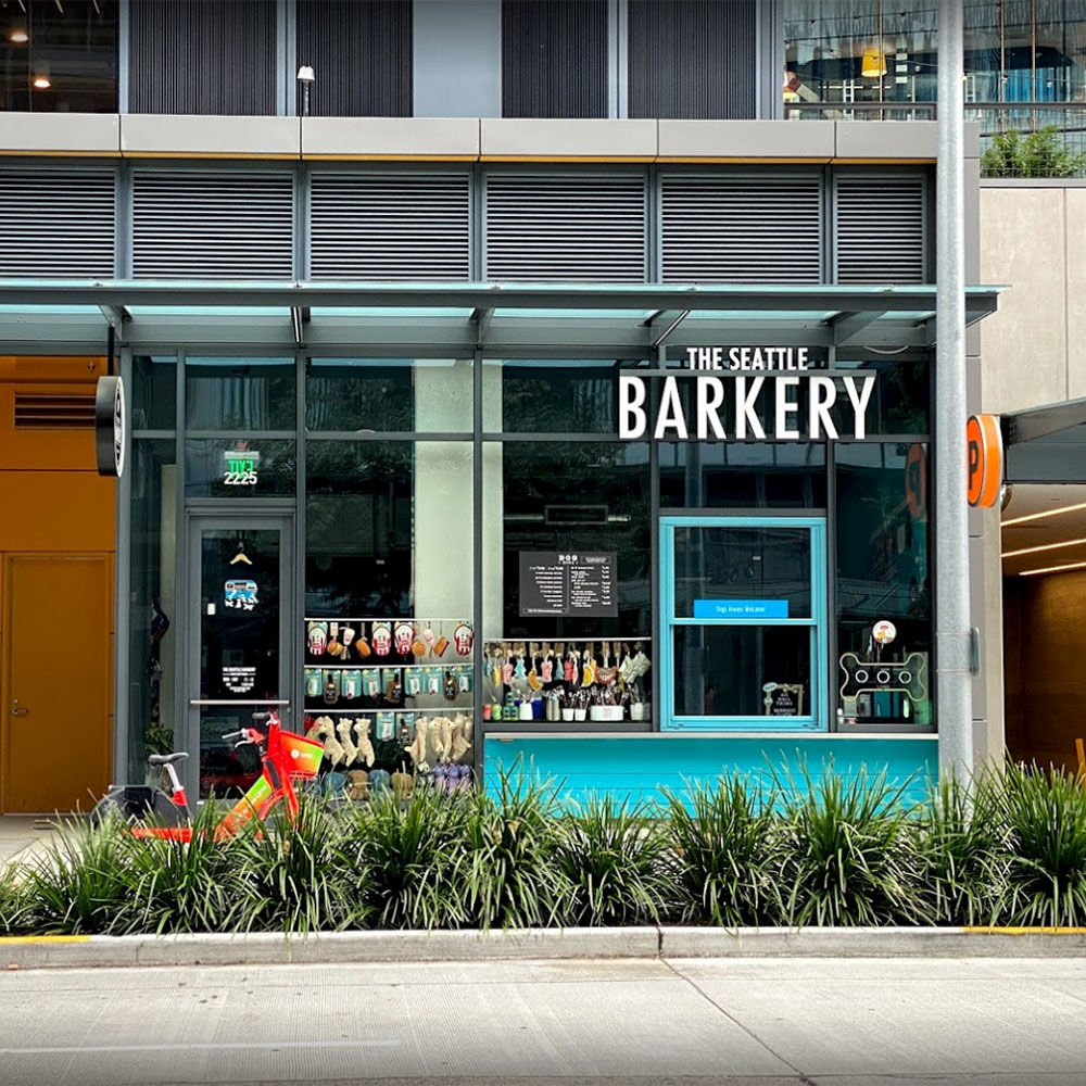 The Seattle Barkery in South Lake Union Seattle
